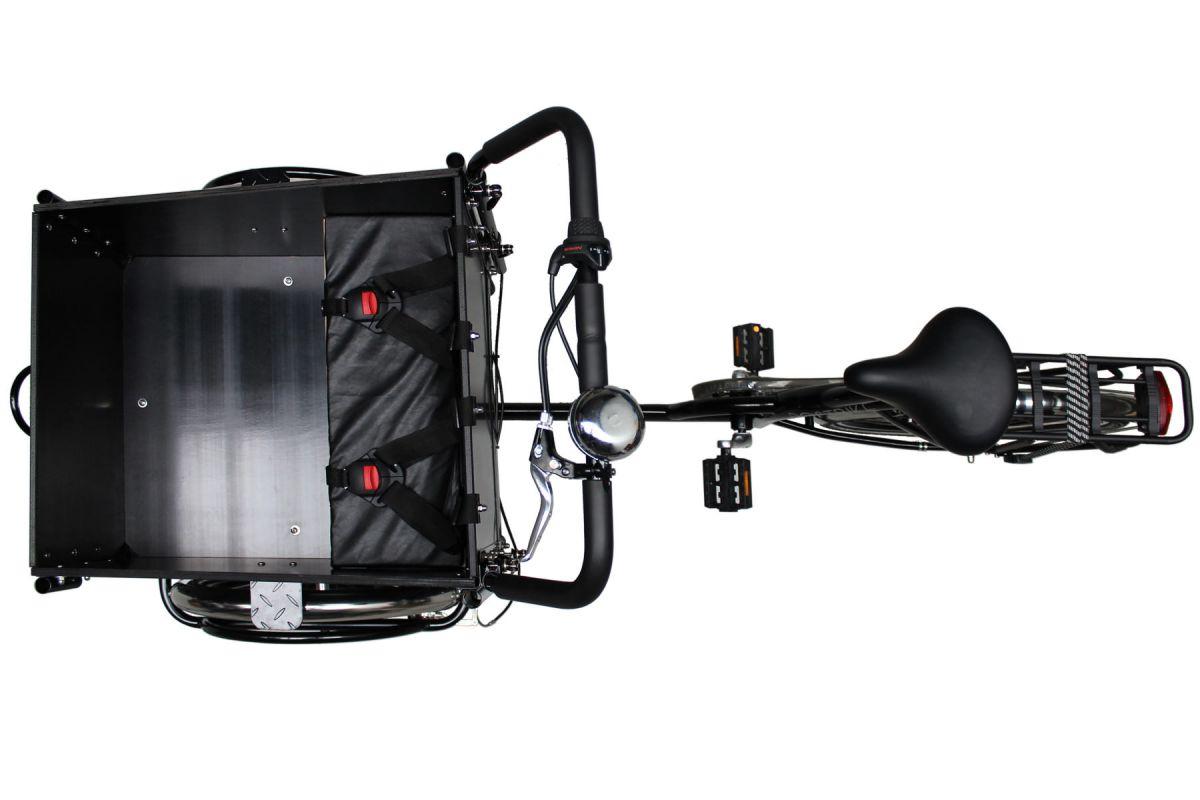 postbike cargo bovenaanzicht