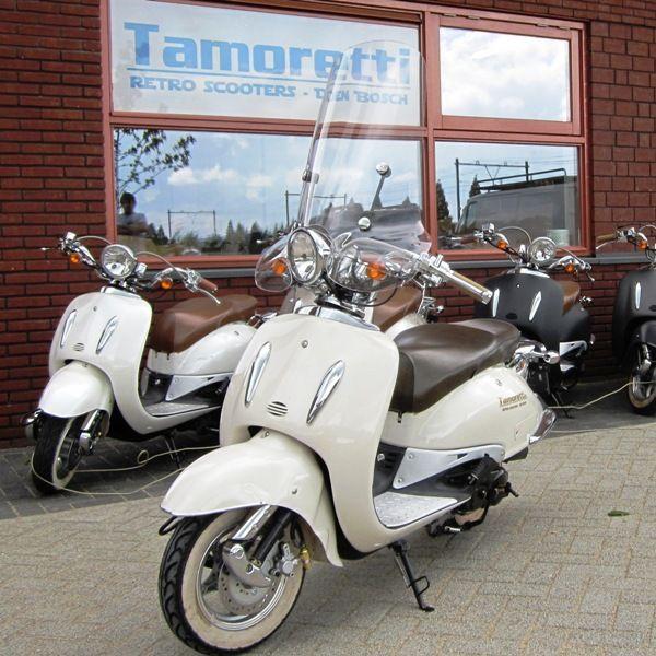 windscherm retro scooter